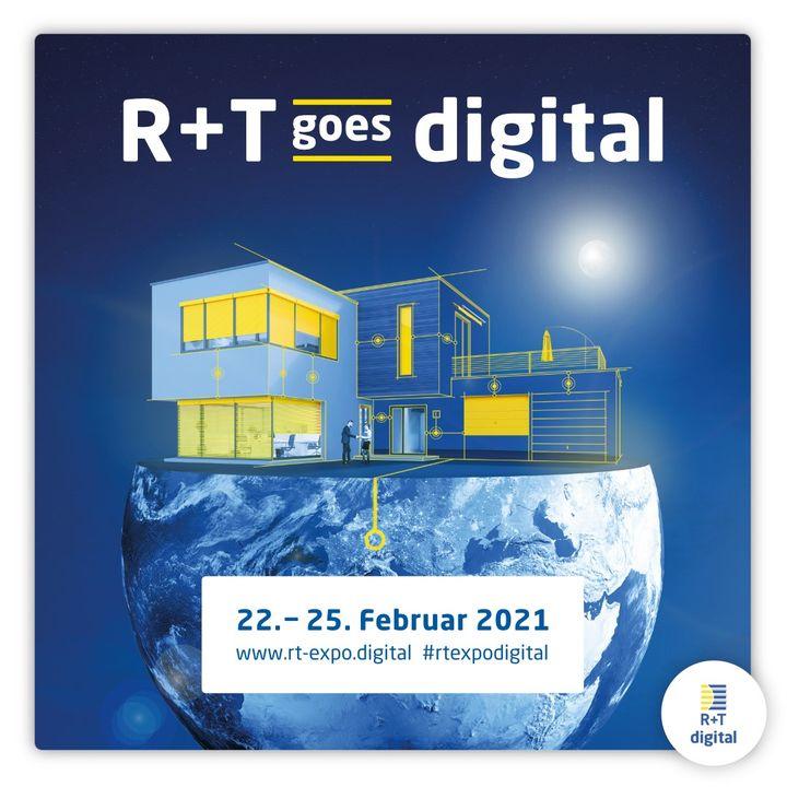 Ab sofort könnt Ihr Euch zur R+T digital anmelden! ??? Vom 22. bis 25. Februar 2021 erhaltet Ihr die Möglichkeit, Eure neu entwickelten Innovationen und Produktneuheiten einem weltweiten Fachpublikum auf unserer digitalen Plattform www.rt-ex...