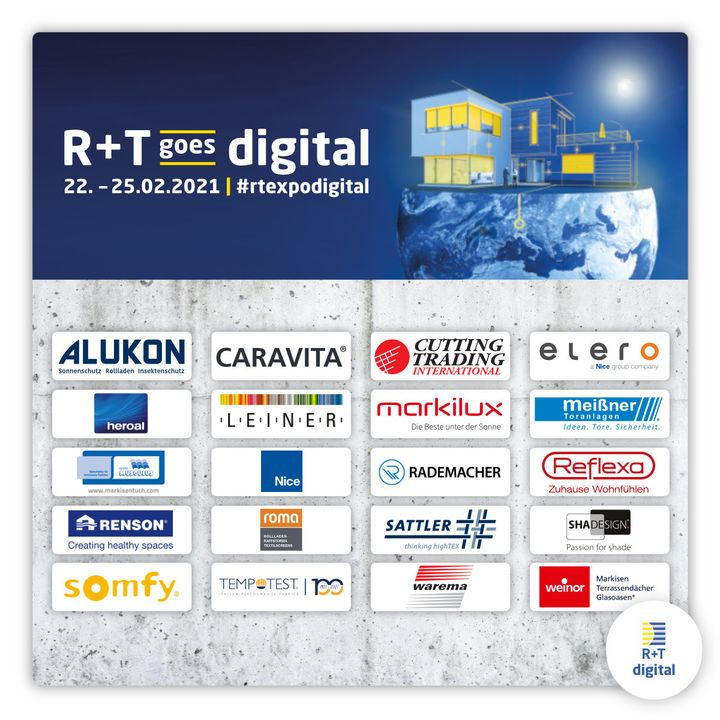 Seit zehn Tagen ist es nun möglich, sich zur R+T digital anzumelden – und in dieser kurzen Zeit haben uns bereits 55 Anmeldungen aus 10 Ländern erreicht. Wir sind einfach nur begeistert! Sebastian Schmid freut sich besonders über dieses  positive...