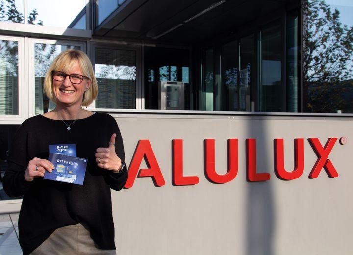 Vielen Dank für Eure Unterstützung Alulux! Wir freuen uns ebenfalls auf den virtuellen Branchentreff im Februar 2021! ? #rtexpodigital