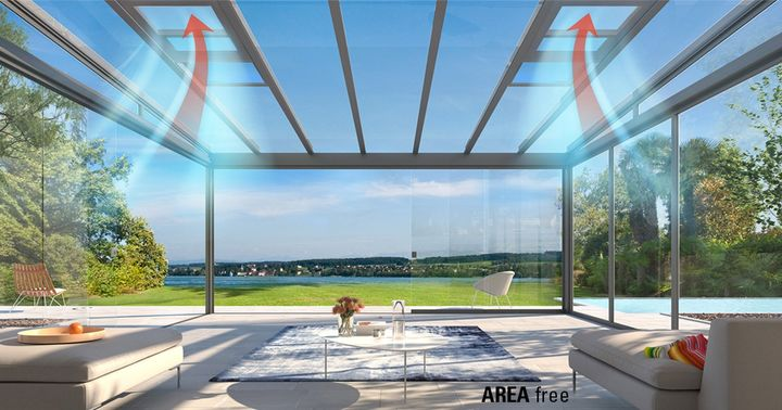 At R+T digital 2021, LEINER Sonnen- und Regenschutz presents a bioclimatic solution for the AREA terrace glass system: AREA free! A motorised sliding window that can be conveniently opened with io radio control and creates targeted ventilation through...