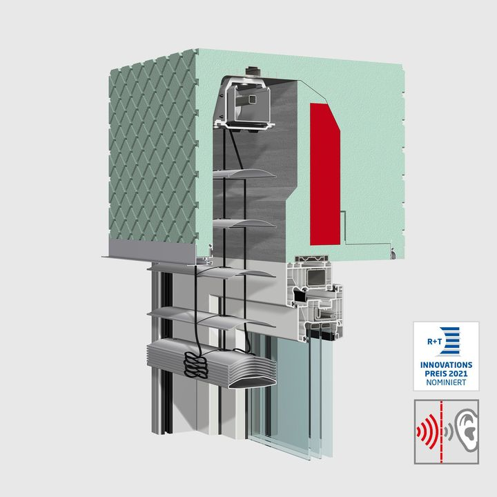@WAREMA was also nominated for the R+T Innovation Award! Be curious about the sound-optimized box for new construction add-on venetian blinds (NA-RA) for more peace and quiet. The optimized box design achieves the highest sound insulation values in the...