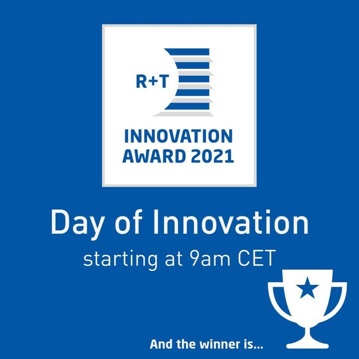 Gleich um 9 Uhr geht's los mit dem Tag der Innovationen!   In 10-minütigen Präsentationen stellen die Gewinner ihre prämierten Produkte der elf Kategorien vor:  9 Uhr: Eröffnung 9:15 Uhr: Kategorie Tore 9:50 Uhr: Kategorie Antriebe und Steuerungen...