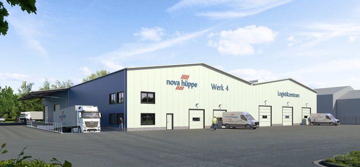 Bau einer neuen Lager- und Logistikhalle: Die Nova Hüppe GmbH Sonnenschutzsysteme ist bereits seit Jahrzehnten als Hersteller für Premium-Sonnenschutzlösungen bekannt. Die Nachfrage nach den hochwertigen Produkten steigt stetig und hat am Unternehme...
