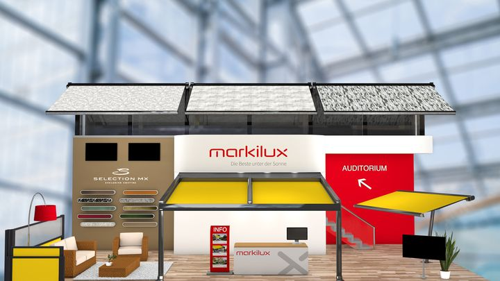 """Positive Messebilanz: markilux hat im Februar seine Produktneuheiten für das Jahr 2021 auf der """"R+T digital"""" vorgestellt. Das Fazit zur Messe fällt durchweg positiv aus. """"Zunächst möchten wir ein großes Lob an die Messegesellschaft und alle..."""