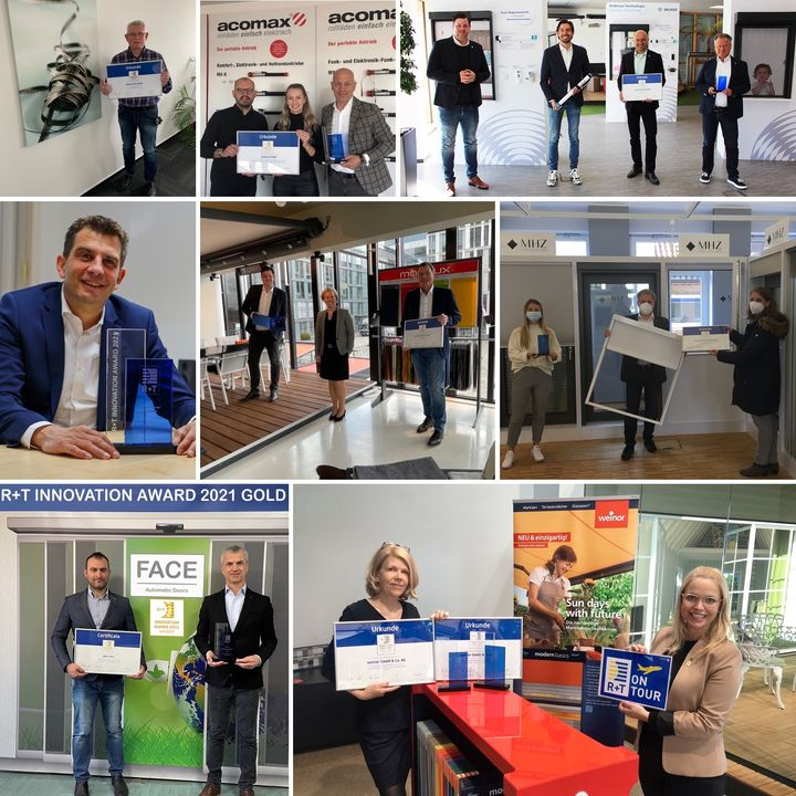 In den letzten Tagen und Wochen haben die Preisträger unseres R+T Innovationspreises 2021 ihre Pokale und Urkunden erhalten – teilweise haben wir diese sogar persönlich vorbei gebracht (natürlich mit Abstand und negativem Testergebnis ?). Unter...