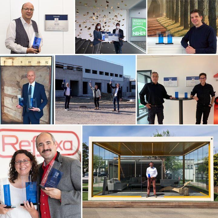 Weitere R+T Innovationspreise haben ihre Besitzer gefunden ???– hier dürfen stolz Corradi, elero Hausautomation, GfA ELEKTROMATEN GmbH & Co. KG, Kadeco, Neher Systeme Insektenschutz, Tempotest by Parà - Italian Performance Fabrics, REFLEXA...