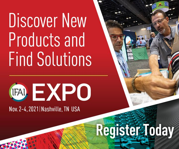 Celebrate the 100th anniversary of IFAI Expo, the textiles and specialty fabric industry's flagship show for sourcing, networking and education in Nashville/TN, from November 2. to 4. Don't miss out the opportunity to source new products, get updated o...