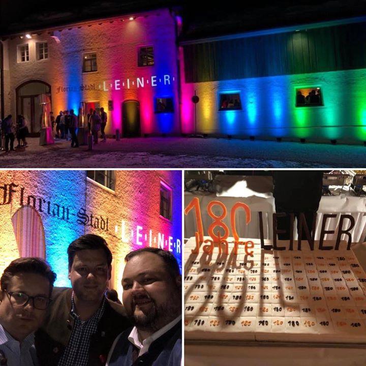 R+T on Tour- wir gratulieren zu 180 Jahren Firma Leiner! Eine spannende Geschichte und eine verheißungsvolle Zukunft! Wir freuen uns auf die weitere Zusammenarbeit.