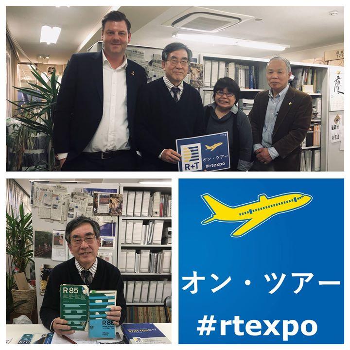 Unser Chef hat vor kurzem den japanischen Sonnenschutzverband, Japan Awning Association (JAA), getroffen. Der Verband kommt zu jeder R+T mit einer Besucherdelegation – und das seit 1985! Wir bedanken uns für diese wahnsinnig tolle Unterstützung und...