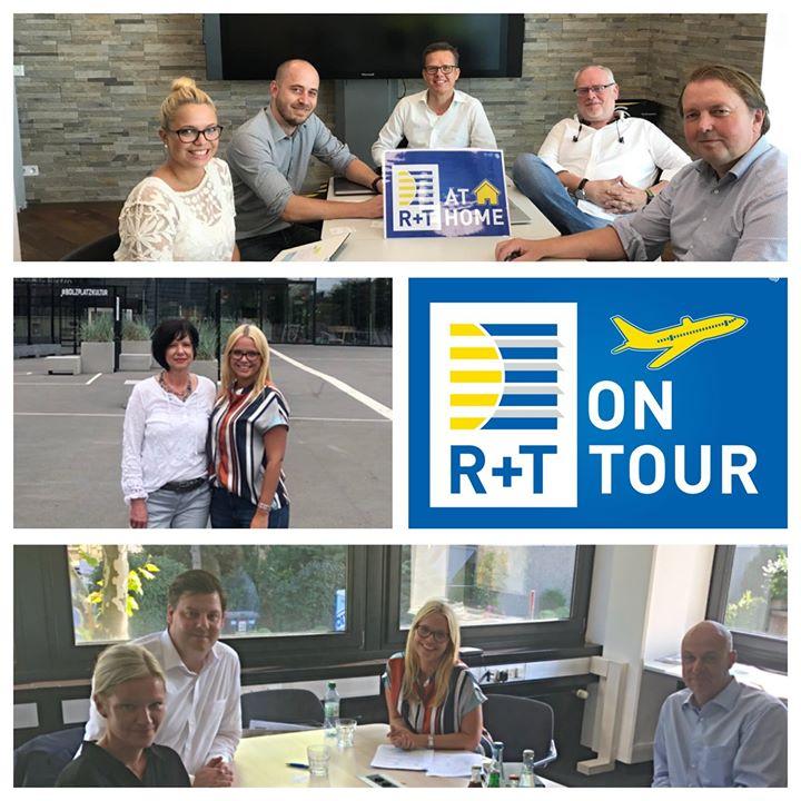 R+T at Home und on Tour! Für die R+T 2021 treffen wir gerade einige unserer Medienpartner und tauschen uns über die weitere Zusammenarbeit aus. Zuletzt hatten wir tolle Meetings mit Alfons W. Gentner Verlag, Tür-Tor-Fenster-Report und Verlagsanstalt...
