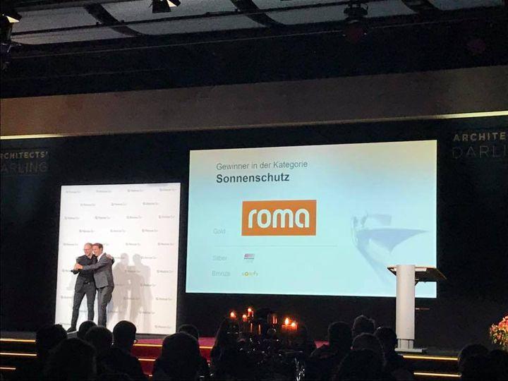 Wir gratulieren allen Unternehmen zum Gewinn des ARCHITECTS' DARLING Awards, der heute in Celle durch Heinze Architektur verliehen wurde. Besonders unserem Aussteller der R+T, ROMA KG zum Gewinn in der Kategorie Sonnenschutz. Natürlich waren wir auc...
