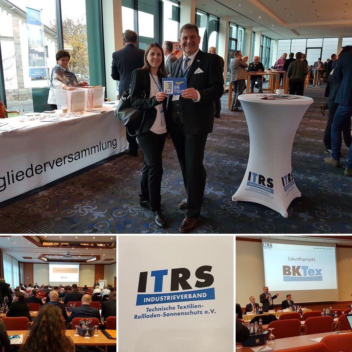 Kurz vor Jahresende geben wir nochmal Vollgas: R+T on Tour - natürlich auch auf der Mitgliederversammlung des ITRS. Dort haben wir viele bekannte Gesichter getroffen, aber auch neue Kontakte geknüpft und einen Einblick in das aktuelle Verbandsgescheh...