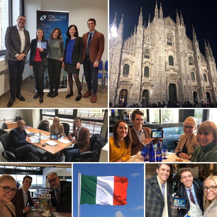 Dieses Mal haben wir bei R+T #onTour unsere italienischen Medienpartner sowie die italienischen Aussteller BAT Group und KE Outdoor Design getroffen - zuerst in der italienischen Handelskammer und anschließend in Mailand. Es war wirklich interessant m...