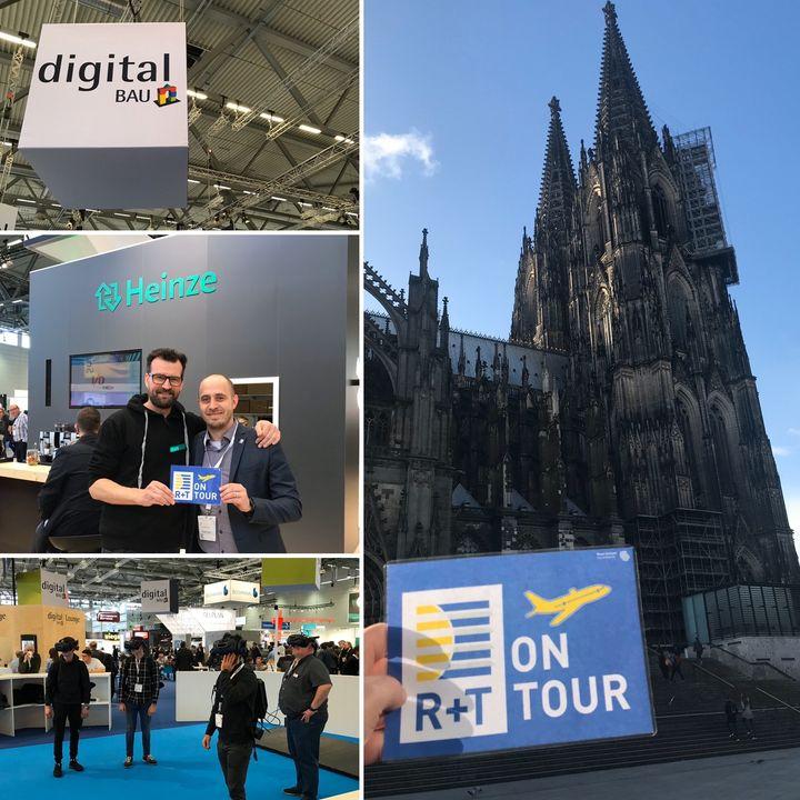 Digitalisierug im Bau? Das ist natürlich auch für die R+T ein Thema! Aus diesem Grund waren wir #onTour auf der neuen Veranstaltung im deutschen Messemarkt in Köln. Dort haben wir nicht nur Einblicke in die digitalen Trends erhalten, sondern auch di...