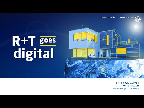 How about a little foretaste of the R+T digital? Take a look at the platform and find out what visitors expect!