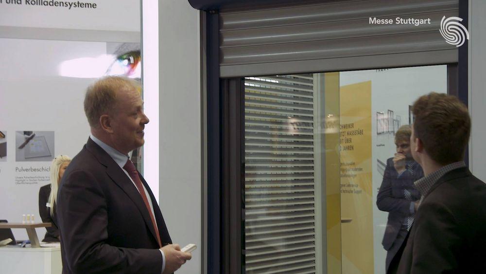 Gute Gespräche, positive Resonanz auf die neuen Produkte: Dieses Fazit zieht Stephan Schweiker, Geschäftsführer der Robert Schweiker GmbH, während der #rtexpo 2018. ?