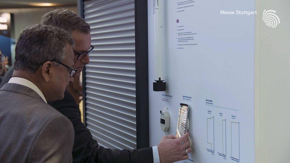 Für Maik Wiegelmann von der Becker Antriebe GmbH steht fest: Die #rtexpo ist Information pur! ??