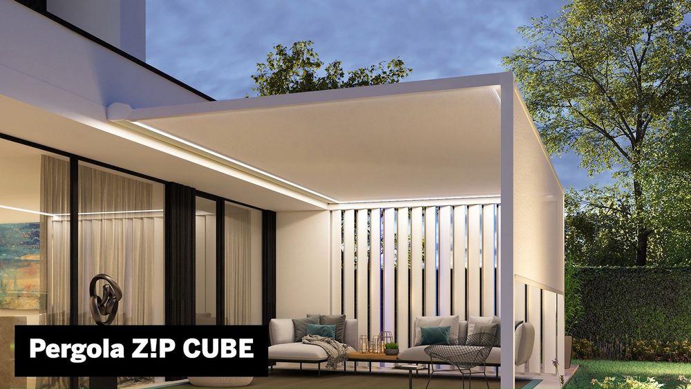 Ein Outdoor-Living Bereich mit einem atemberaubenden Design und allem benötigten Komfort für draußen? Entdeckt auf der R+T digital die Pergola SO!, Pergola Z!P sowie den Z!P CUBE von Winsol --- An outdoor living space with a stunning design and all...