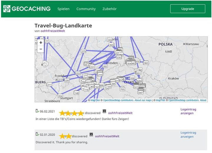 Unser oohh!-Travel-Bug ging 2017 auf Reisen mit dem Ziel, einmal die Welt zu umrunden. Ganz geschafft hat er es noch nicht, ist aber viel herum gekommen. Nun sitzt auch er im Lockdown in Tschechien fest und hofft, seine Reise bald fortsetzen zu können...