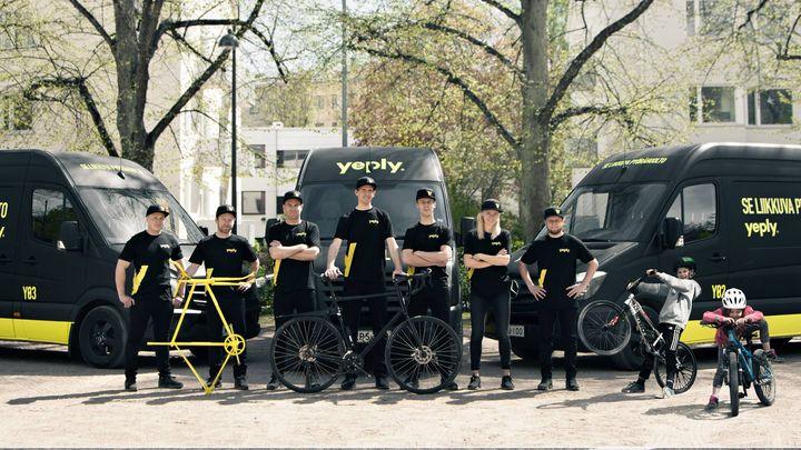 Ist dein Fahrrad fit? Die mobile Fahrradwerkstatt Yeply bietet exklusiv allen Besuchern der RAD HAMBURG eine komplette Fahrradinspektion zum Messe Special für nur 59€ an! Hier kannst du deine Inspektion schon einmal online buchen:  https://www.yeply...