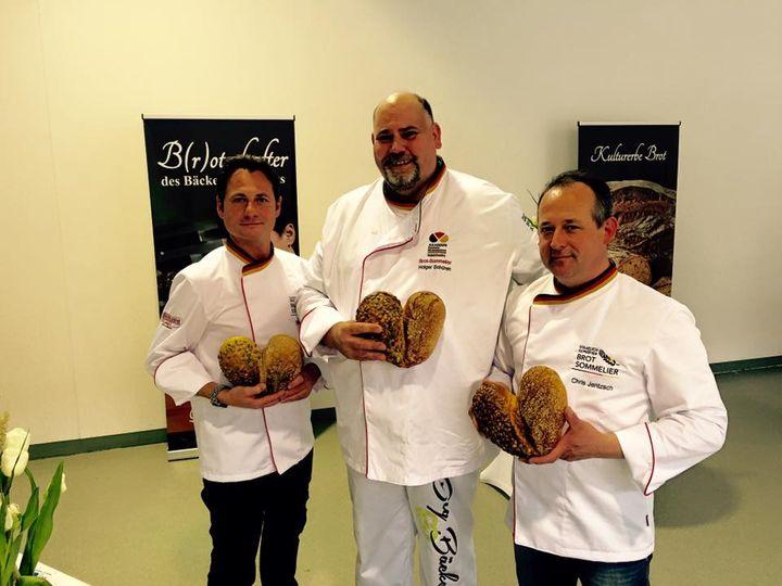 Unsere drei Brot-Someliers haben in ihrem Vortrag während des B3TRILOGs alle Zuschauer/innen begeistert.