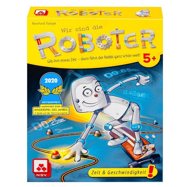 Lernspiel des Monats Juli: Wir sind die Roboter ?  Fliegt der Roboter im Schneckentempo oder im Raketen-Modus? Hier sind echte Gedankenlese-Fähigkeiten gefragt!  Ganz im Geheimen schaut sich der Roboterspieler die Aufgabenkarte an. Auf der ist der...