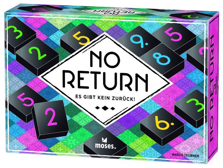 """?Das Lernspiel des Monats September ?  No Return  Gut rechnen, mitdenken, die Konkurrenz beobachten – dieses abstrakte Taktik-Spiel wird nie langweilig!  Wann ist der richtige """"Point of no Return""""? Diesen perfekten Moment erwischen – das..."""