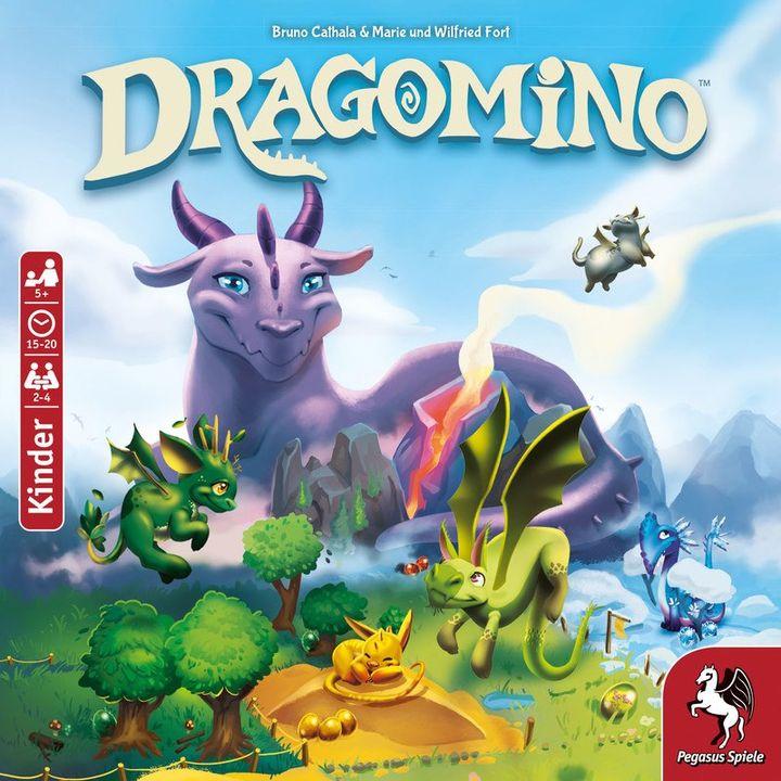 """Dragomino ist das Kinderspiel des Jahres 2021! ? Das Spiel zeigt auf eine """"eindrucksvolle Weise, wie man aus einem Familienspiel ein Kinderspiel macht"""", heißt es in der Begründung der Kinderspieljury des Vereins Spiel des Jahres e.V., und es ?..."""
