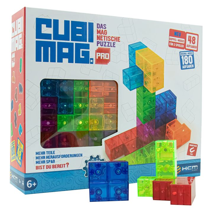 Sieger des Lernspielpreis des Monats September 2021: Cubimag Pro ? Gebäude nachbauen, die auf der Karte gezeigt werden - und das mit Puzzleteilen in unterschiedlichsten Formen - so lautet die Aufgabe in diesem Spiel. ?️? Die Puzzleteile hal...
