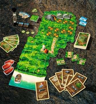 """Der Mai wird gefährlich! Beim Lernspiel des Monats """"Red Peak"""" bekommen es die Entdecker nämlich mit der glühenden Lava eines ausbrechenden Vulkans zu tun. Nur durch geschickte Teamarbeit können die Spieler gemeinsam die richtigen Wegkarten auswähl..."""