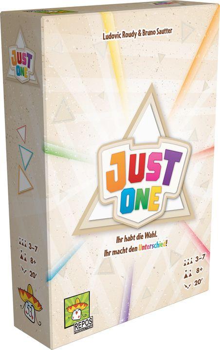 """Wir gratulieren recht herzlich!  """"Just One"""" von Ludovic Roudy und Bruno Sautter (Verlag: Repos Production) ist das Spiel des Jahres 2019!  """"Schachtel"""", """"Würfel"""", """"Freizeit"""", """"Spaß"""". Was könnten diese Begriffe assoziativ umschreib..."""