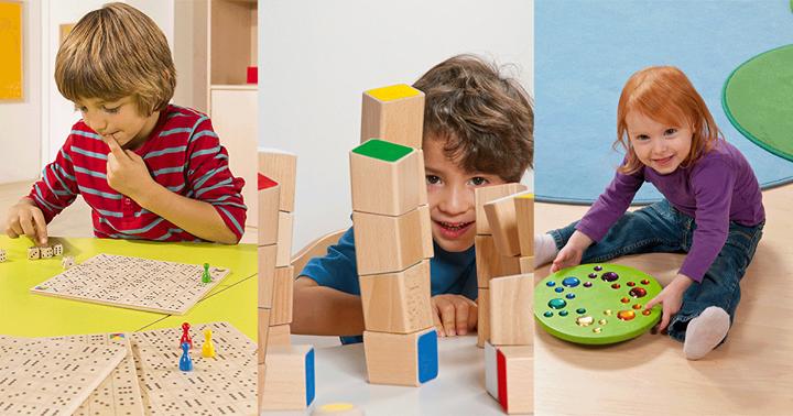 Achtung! Nichts für Hochstapler! Versucht euch am Schrägstapler Turm von Dusyma. Der Hersteller von Kindergartenbedarf achtet vor allem auf pädagogisch wertvolle Spielwaren und nachhaltige Materialien. Versucht euch auf der Spielemesse an Stand 1H14...