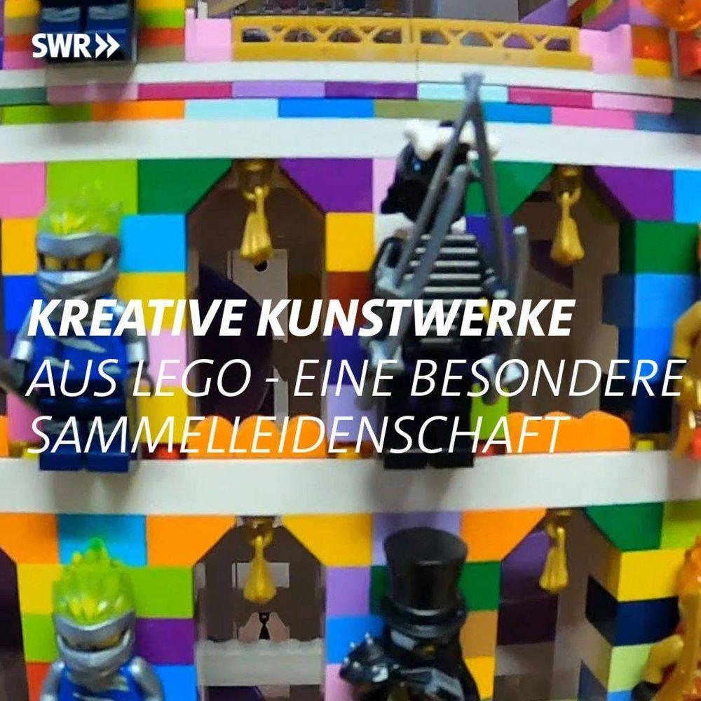 Langeweile im Lockdown?? Die gibt es bei Andreas Reikowski und den anderen Mitgliedern von  Schwabenstein 2x4 e.V. nicht. ?? Fleißig werden neue Lego-Kunstwerke erdacht und erbaut. Wir freuen uns schon, euch diese auf der Spielemesse präsent...