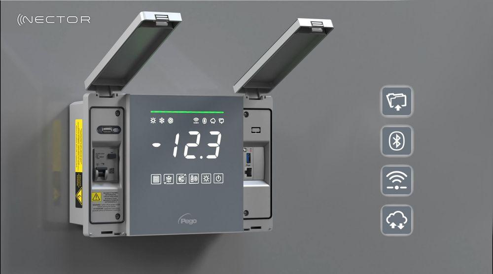 Einfache Steuerung von Kühlräumen