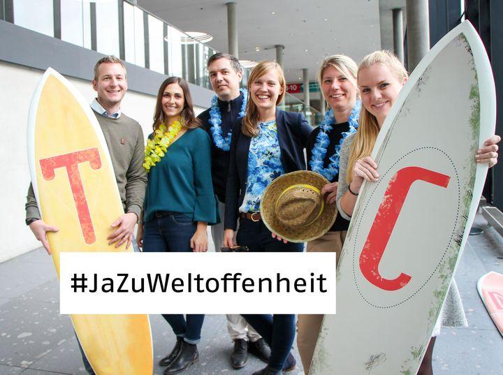 #JaZuWeltoffenheit! Wir bekennen uns gemeinsam mit der deutschen Tourismuswirtschaft zu Vielfalt, Toleranz, Gastfreundschaft und Weltoffenheit und unterstützen die Kampagne des Deutscher Tourismusverband.