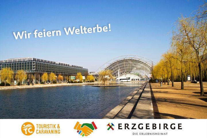 Heute ist Tag des Erzgebirges auf der #tcleipzig! Auf der TC-Bühne ist als Gast der Erlebnisheimat Erzgebirge um 12 Uhr Jens Weisflog für einen weltmeisterlichen Talk zu Gast, außerdem gibt es jede Menge Ausflugstipps und Spezialitäten aus dem Erzg...