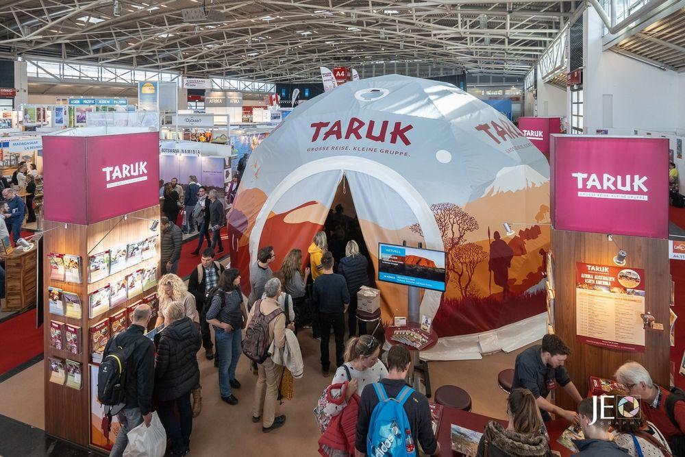 TARUK weckt Reiseträume in  seinem Film- und Vortragsdom