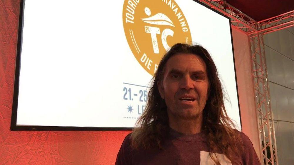Thomas Huber von den Huberbuam ist zu Gast auf der #tcleipzig18 und berichtet von seinen Abenteuern. Lasst euch inspirieren! Noch heute und am Freitag auf der Bühne in Halle 2!