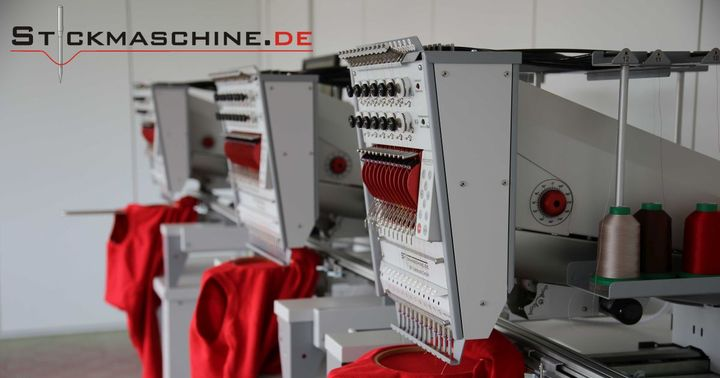 --- TV #TecStyleVisions exhibitor 2020 ---  Stickmaschine.de presents industrial embroidery machines of the brand Fortron. They are extremely fast, durable and therefore particularly economical. Machines with 1-6 heads and 6-54 needles offer the perfec...
