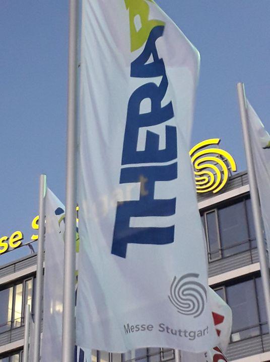 Die Therapro - Fachmesse + Kongress-Fahnen sind bereits gehisst: es geht bald los! Noch zweimal schlafen... https://www.messe-stuttgart.de/therapro/besucher/auf-einen-blick/