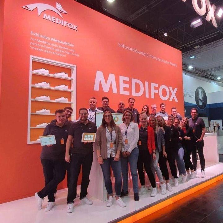 Wir sehen uns am Stand 4D99, liebes MediFox GmbH-Team